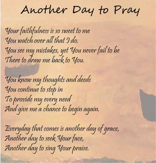 Another Day to Pray