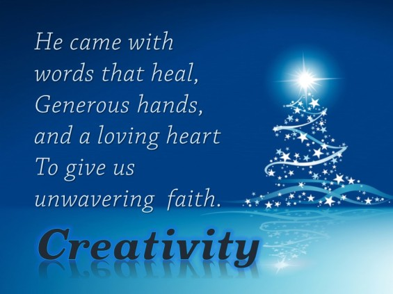Creativity Blessing