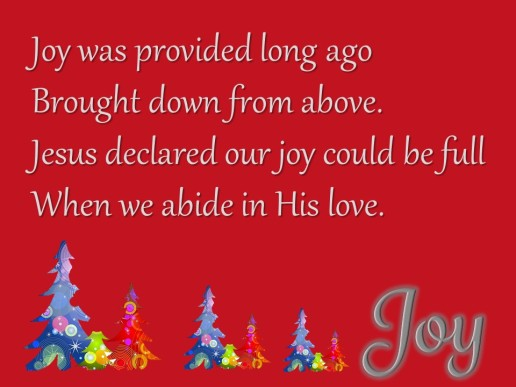 Day 3 Blessing Joy