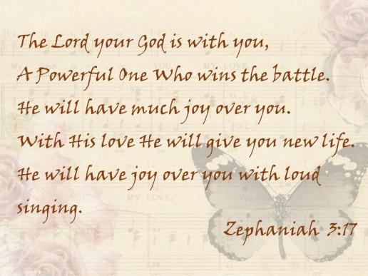 Zephania 3 17