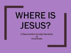 Where is Jesus